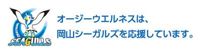 岡山シーガルズを応援しています。